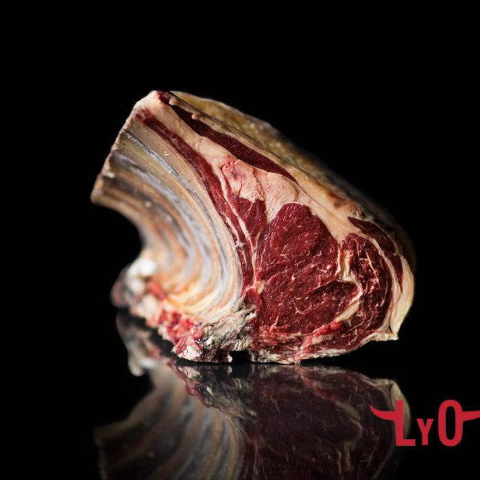 Chuletón lomo alto extra de vaca Rubia Gallega 30 días de maduración