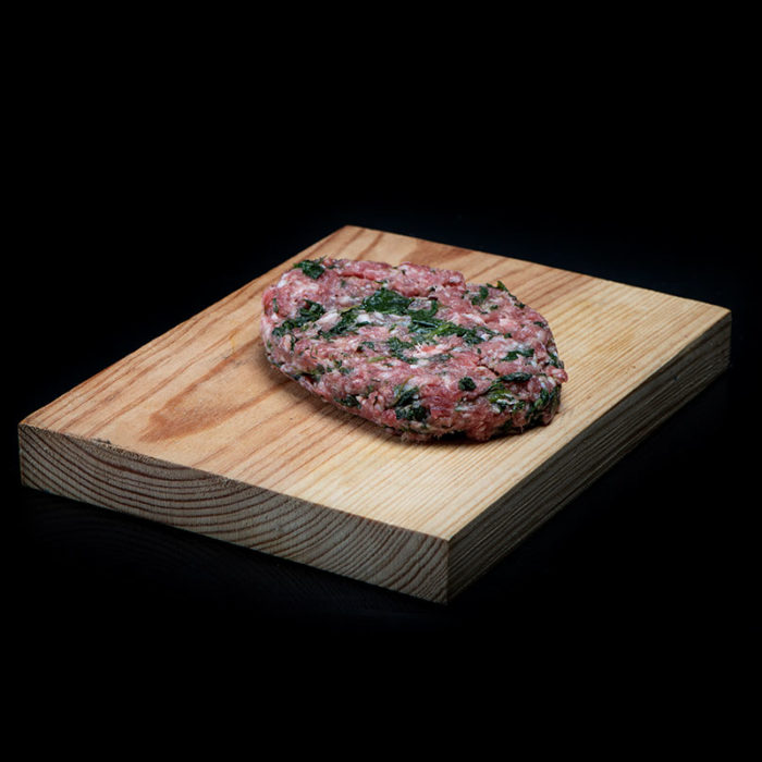 Hamburguesa-de-ternera-con-espinacas